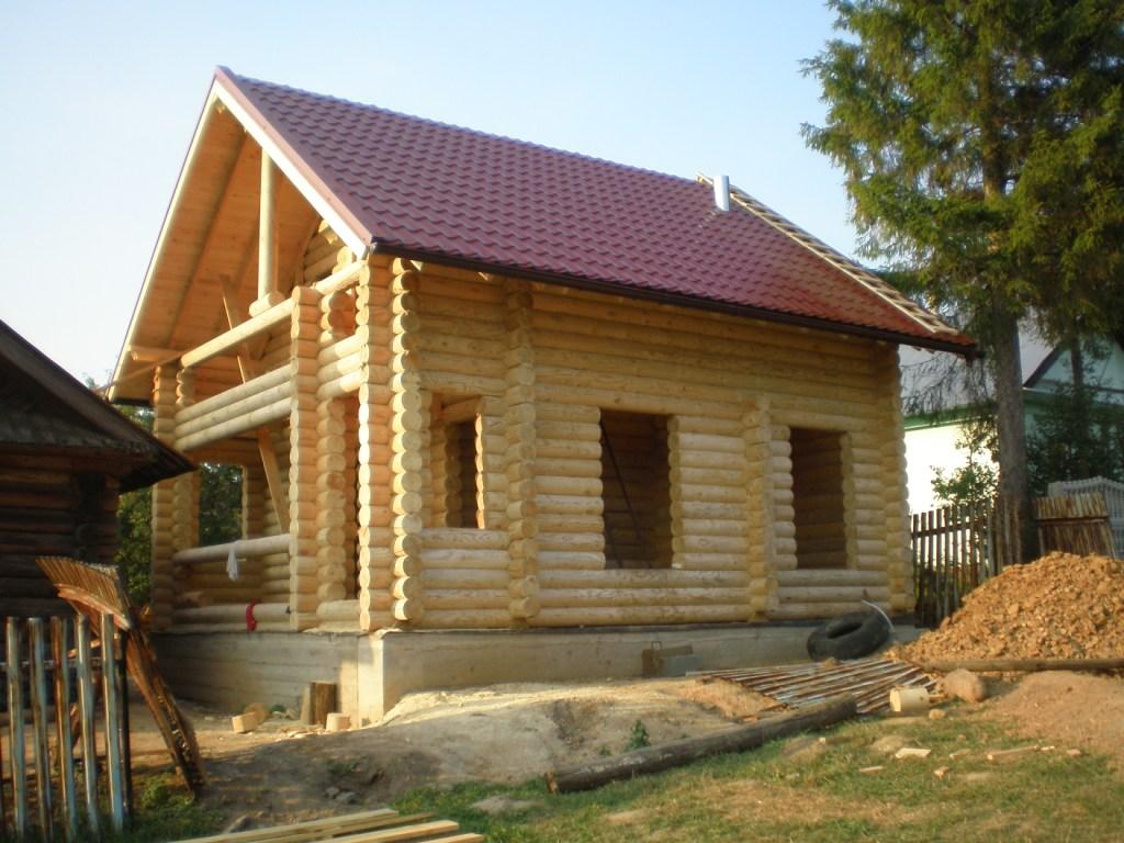 Технология строительства домов из бревна